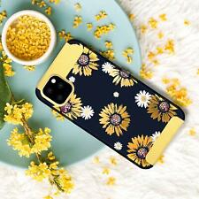 iPhone 11 Pro Max Case Sunflower Slim Hybrid Hard PC Soft TPU Bumper Gift Yellow