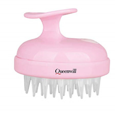 Scalp Massager for Hair Growth, Queenwill Head Massager for Deep Hair Cleaning -