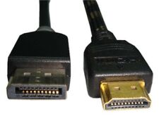 Unirise Displayport/hdmi Video Cable - Displayport/hdmi - 10 Ft - Hdmi Male