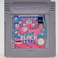 Kirby's Block Ball | Nintendo Game Boy Spiel | GameBoy Classic Modul | Gut