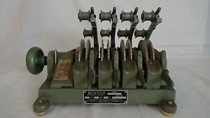 Moviola 4Bank 16mm Synchronizer/Counter Model SZD, Ser#29999, Used Made in Calif