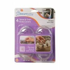 DreamBaby Stove Knob Covers (pack of 4 Transparent)