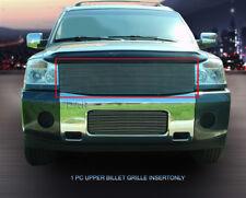 Fits 2004 2005 06 2007 Nissan Titan Armada Billet Grille Upper Insert 1 PC Fedar