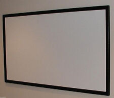 "110"" (BARE) PROJECTOR / PROJECTION SCREEN MATERIAL + PLANS FOR DIY FIXED FRAME!!"
