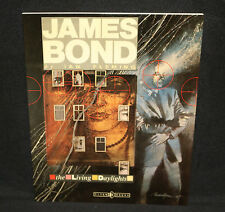 James Bond 007 Ian Fleming Living Daylights Strips by Titan Books (Vf/Nm) 1987