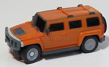 LOOSE McDonald's 2006 Hummer H3 SUV Humvee Orange Truck SUV Toy WIND UP DRIVE