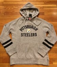 Pittsburgh Steelers Womens Hoodie Size Small Nwt Grey