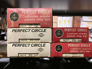 Pirfect Circle Piston Ring Set Ford 1963-83 200, 250 L6 cy 3.3L 4.1L Car & Truck