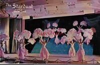 Postcard Show Time The Stardust Las Vegas Nevada NV 1968