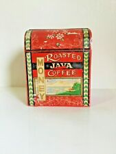 Rare Vintage Still Coin Bank Fine Quality Lego Japan Coffee Java Money Red