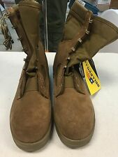 USMC Issued Belleville 550 Steel Toe Boots Size 14.0 R