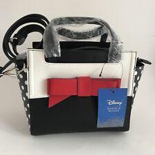 Disney Danielle Nicole Minnie Mouse Signature Satchel Tote Bag Purse Handbag Bow