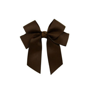 Wholesale 1/20X 3.5'' Hair Knot Ribbon Hair Bow With Clip For Girl Baby