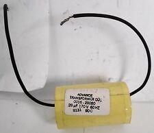 Advance 0016-28050 Capacitor 28UF 170V 60Hz
