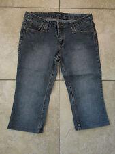 Bailey's Point {Juniors 13} Fancy Pocket Capri Cropped Hemmed Jeans