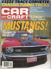 "NOVEMBER 1984 CAR CRAFT MUSTANG SECTION ""AMERICAN GRAFFITI"" 30TH U.S. NATIONALS"