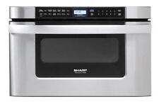 "Stainless Steel Kitchen Sharp Insight Pro Series Built-In 24"" Microwave Drawer!"