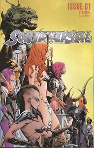 SONJAVERSAL #1 COVER A LEE & CHUNG VF/NM 2021 DYNAMITE HOHC