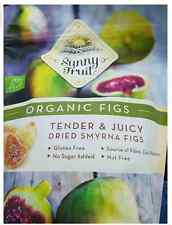 Sunny Fruit 1Kg Organic Dried Figs Smyrna Resealable Bag Perfect Gift Quality