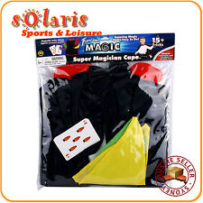 Fantasma Magic's Super Magician Cape Set 15+ Tricks Children Dressup Cape Kit