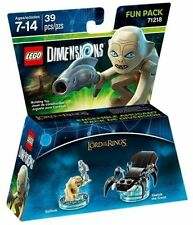 LEGO Dimensions 71218 Gollum Fun Pack - Lord of the Rings - Señor de los Anillos