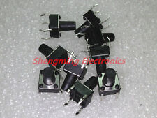 100PCS Momentary Tactile Push Button Switch Tact Switch 6X6X9mm 4-pin DIP-4