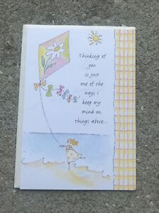 DaySpring Cards Thinking Of You Religious Themed Greeting Card -NEW! -religious