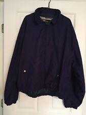 Men's XL Lightweight Jacket ROCKPORT Navy Blue Full Zip