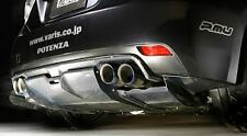 GENUINE VARIS REAR DIFFUSER CARBON FOR SUBARU GRB STI