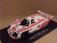 Spark 1/43 Resina Lancia Lc1, 1983 Lemans, Sivama - UFO - Chardonnet, #53 #S0664