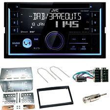 JVC KW-DB93BT Digitalradio Bluetooth USB Einbauset für Peugeot 307 Citroen C2 C3