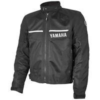 Yamaha Tornado Motorcycle Jacket by Rev'it! Black Mesh Riding Zip-Out Liner