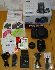 Canon EOS 60D 18.0MP SLR Camera - Canon Kit EF-S 18-55mm III + 16gb memory card