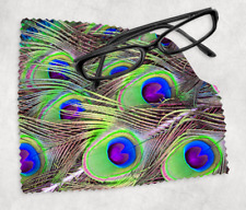 PEACOCK FEATHER Sunglasses Reading Lens Mobile Phone Microfiber Cleaning Cloth