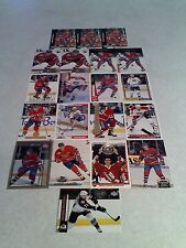 *****Patrice Brisebois*****  Lot of 100+ cards.....37 DIFFERENT / Hockey