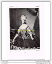 ARCHDUCHESS MARIA JOSEPHA, R MENGS, SPANISH, c1760, FROM HISTORIC COSTUME, BOOKP