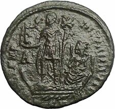 Constans son of Constantine the Great 348AD Large AE2 Ancient Roman Coin i54868