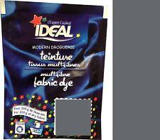 TEINTURE IDEAL TEXTILE TISSU VETEMENT GRIS coton lin laine polyamide
