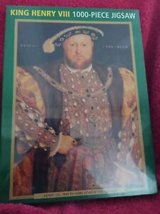 King Henry VIII of England 1000 Piece Jigsaw Puzzle High Quality Painting 1540
