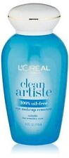L'OREAL   Clean Artiste Oil-Free Eye Makeup Remover 4.0 FL. OZ. NEW