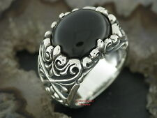 Silberring Gothic TRIBAL Rockabilly Ring Tattoo Style Silber 925
