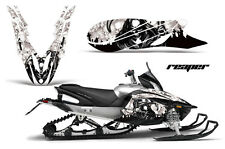 YAMAHA APEX GRAPHIC KIT AMR RACING SNOWMOBILE SLED WRAP DECAL 11-14 REAPER WHITE
