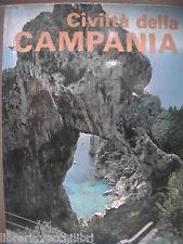 CIVILTA DELLA CAMPANIA 1975 Capri Porto di Napoli Amalfi Guardia Sanframondi la