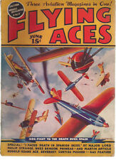 FLYING ACES Pulp Magazine June 1937 Schomburg Al McWilliams Philip Strange etc.