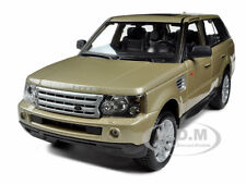 RANGE ROVER SPORT GOLD 1/18 DIECAST MODEL CAR BY BBURAGO 12069