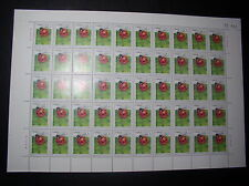 China Stamps 1992-7 Scott#2393 Insects (4-1)T 50 Pc Whole Sheet Mint Never Hinge