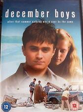 Décembre Garçons DVD 2007 Australien Rites de Passage Drame W/Daniel Radcliffe