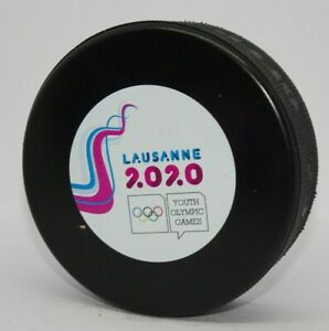 rare @ OFFICIAL GAME PUCK YOG DNA Youth Olympic Games 2020 LAUSANNE Switzerland