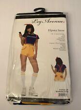WOMEN'S HIPSTER NERD SNOW WHITE PRINCESS COSTUME SIZE SMALL / P