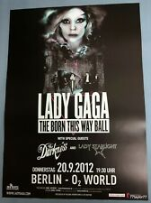 Lady   Gaga     Tourplakat   20.9.2012     Berlin